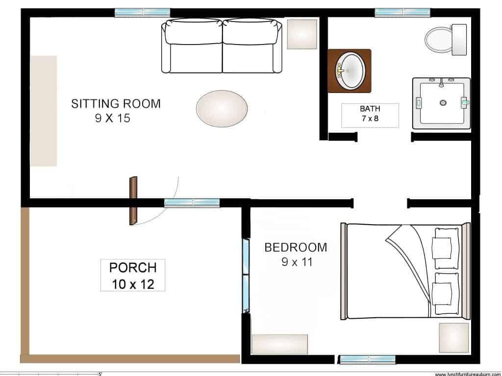Riesling - Cabin Floor Plan