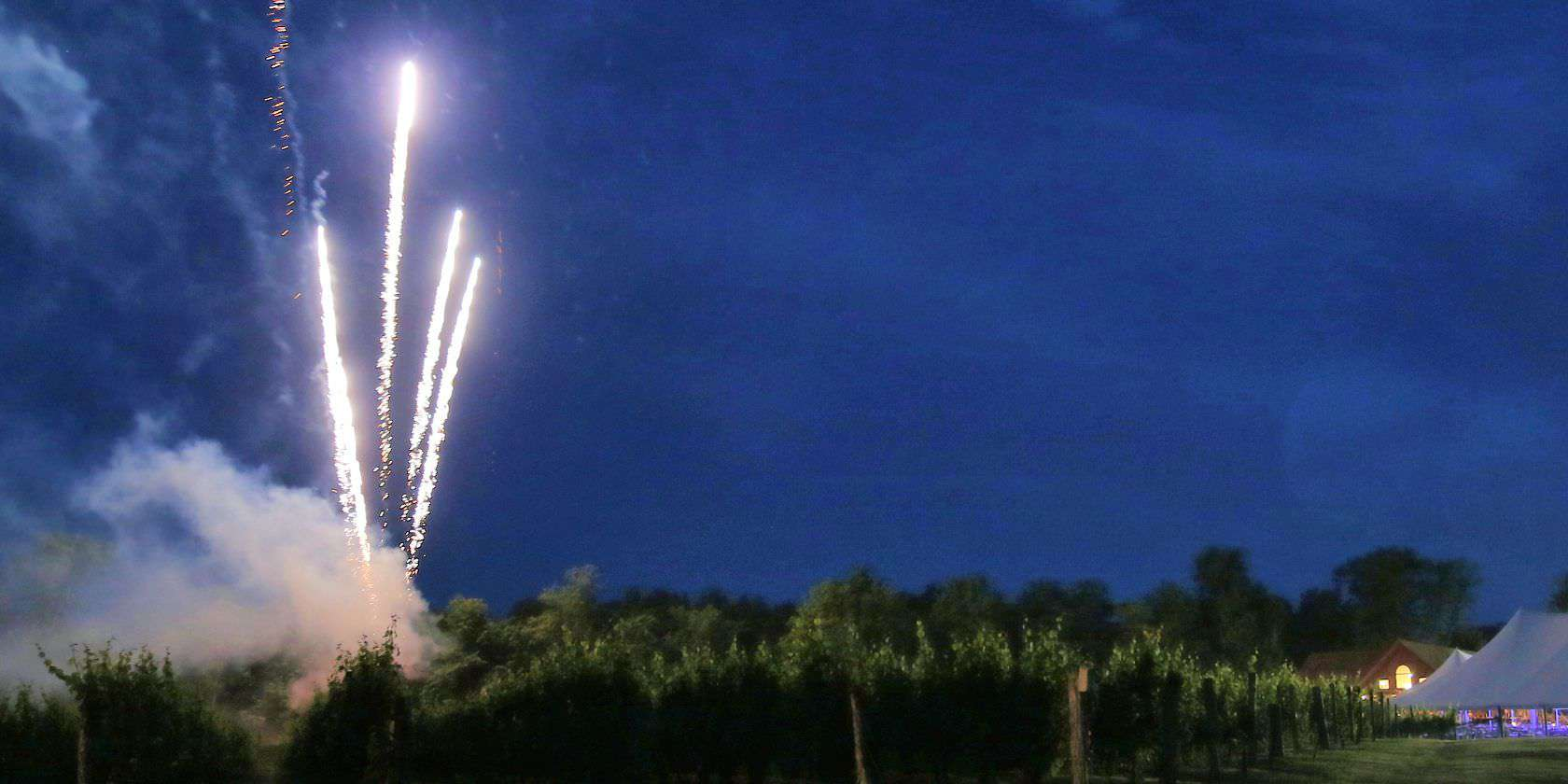 Fireworks at Buttonwood Grove